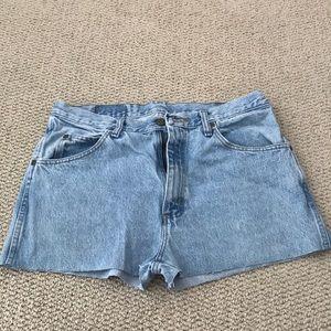 Vintage Wrangler Cut Off Jean Shorts